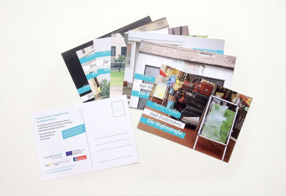 Unsere Hafenstraße ist postkartenreif!